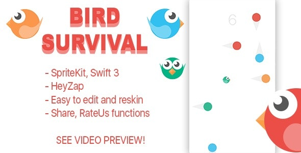 Bird Survival - CodeCanyon Item for Sale