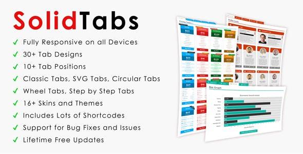 SolidTabs | CSS3 Responsive Tabs