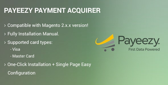 Payeezy Payment Acquirer by drcsystems-design | CodeCanyon