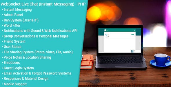 WebSocket Live Chat (Instant Messaging) - PHP