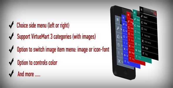 Za Sidebar Menu - CodeCanyon Item for Sale