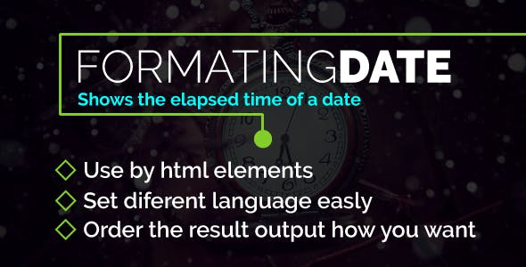 Formating Date