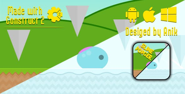 Slime Dodger - HTML5 Game (CAPX)