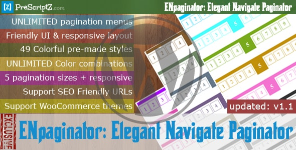 Elegant Navigate Paginator for WordPress - CodeCanyon Item for Sale