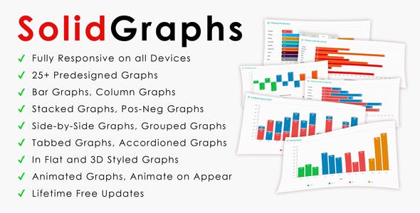 CSS Charts & Graphs from CodeCanyon