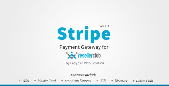 Stripe Payment Gateway for Reseller Club