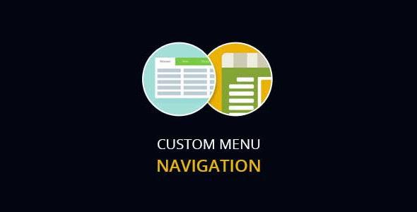 Custom Menu Navigation - CodeCanyon Item for Sale