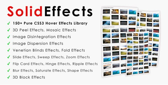 SolidEffects | CSS3 Image Hover Effects