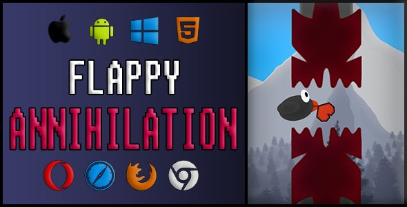 Flappy Annihilation | Unity3d - CodeCanyon Item for Sale