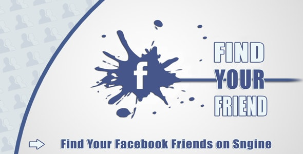 Find Your Facebook Friend - Sngine - CodeCanyon Item for Sale