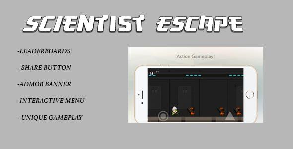Scientist Escape - IOS + ADS
