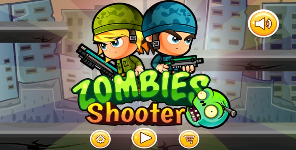 Zombie Shooter (Xcode - Buildbox 2.2.7- Admob) - CodeCanyon Item for Sale