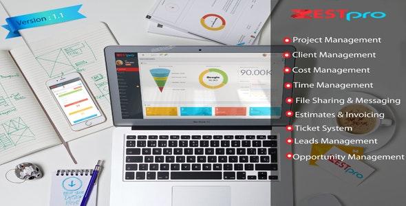 Zestpro  - Project Management - CodeCanyon Item for Sale