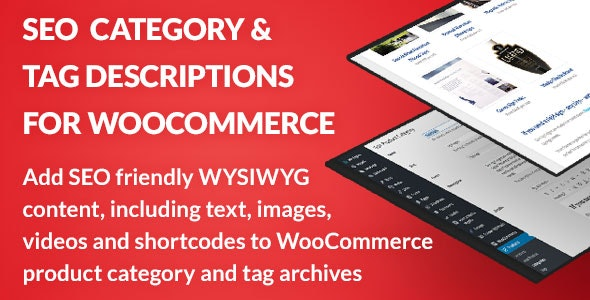 SEO Category and Tag Descriptions for WooCommerce - CodeCanyon Item for Sale