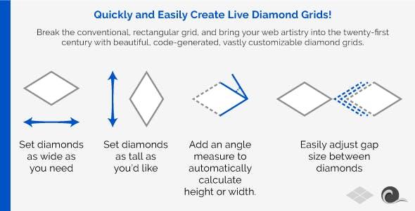 Live Diamond Grid