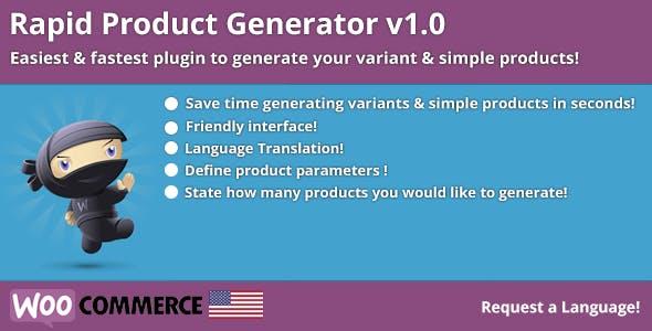 Rapid Product Generator v1.0