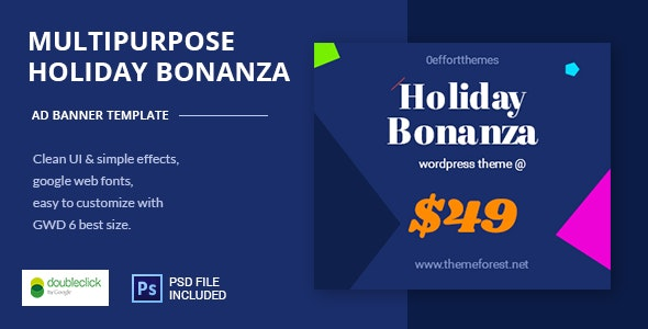 Online shopping - HTML Animated Banner 10 - CodeCanyon Item for Sale