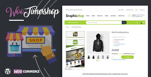 Woocommerce TimerShop - CodeCanyon Item for Sale