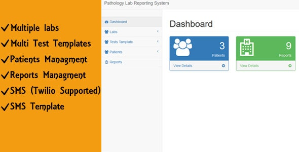Pathology, medical Lab Reporting System - CodeCanyon Item for Sale