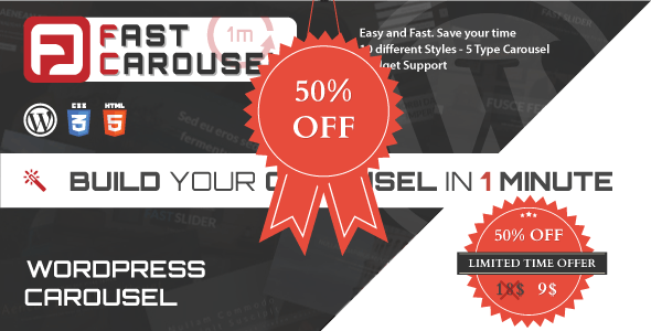 Fast Carousel - Wordpress Premium Plugin