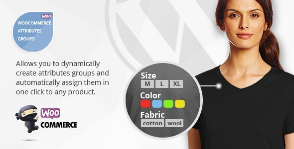Woocommerce Attributes Groups - Group and Load Many Attributes on Variable Products in one Click - CodeCanyon Item for Sale