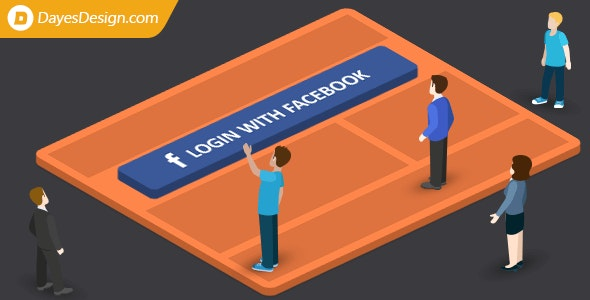 Login with Facebook — let users login with Facebook and get their Facebook emails - CodeCanyon Item for Sale