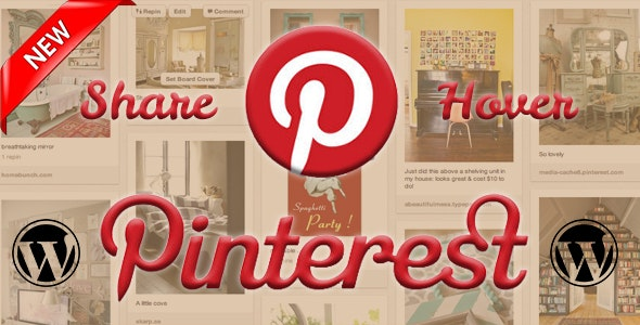 Pinterest Share Images for Wordpress - CodeCanyon Item for Sale