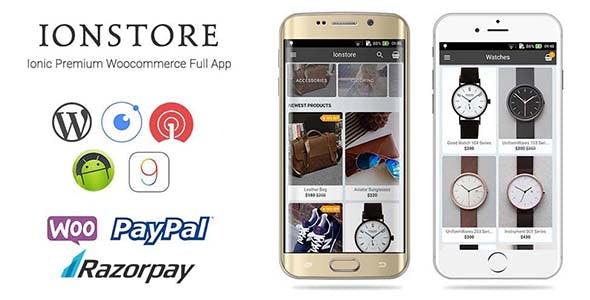 Ionstore - Ionic Premium WooCommerce Full Android and iOS App