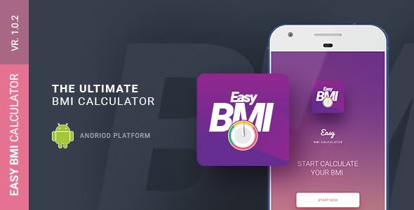 Easy BMI Calculator | Android Studio Mobile Application