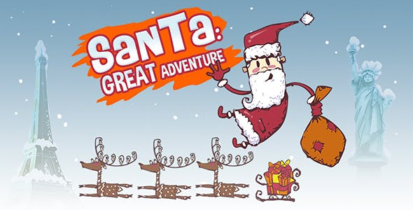 Santa: Great Adventure. Android + Admob ads