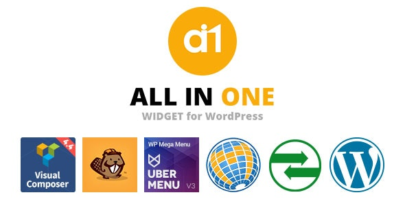 All In One Widget - CodeCanyon Item for Sale