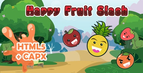 Happy Fruit Slash CAPX + HTML5