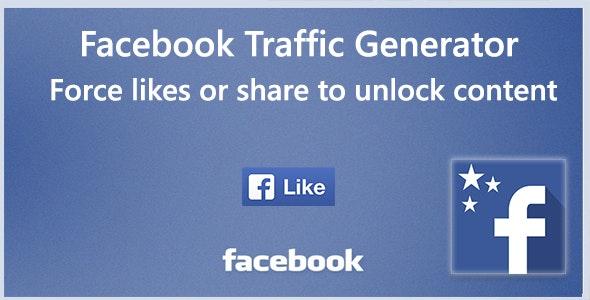 Facebook Trafic Generator - CodeCanyon Item for Sale