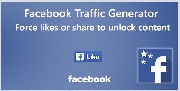 Facebook Trafic Generator