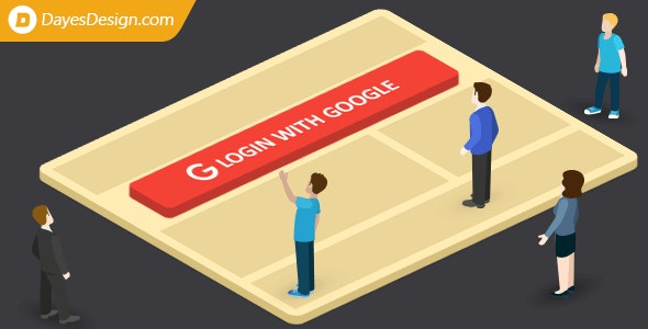 Login with Google — let users login with their Google account and get their Google account emails - CodeCanyon Item for Sale