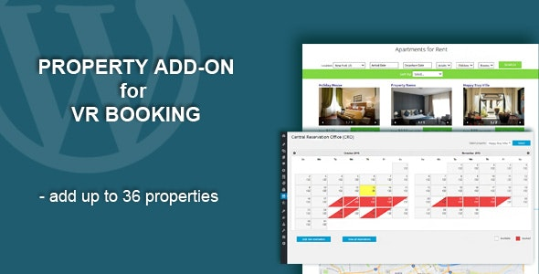 Property Add-On for VR Booking - CodeCanyon Item for Sale