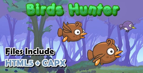 Birds Hunter CAPX + HTML5