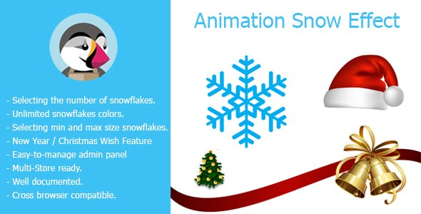 Snow Effect Christmas & New Year Holidays