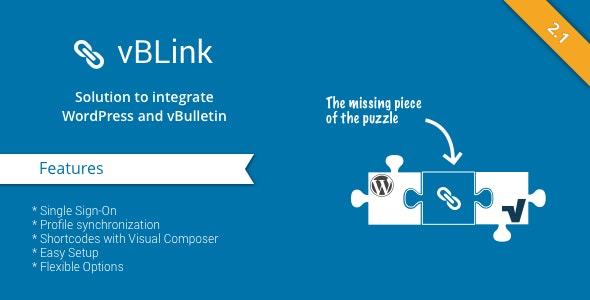 vBLink - Integrate WordPress with vBulletin by apphero