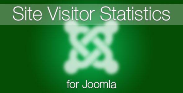 Site Visitor Statistics for Joomla