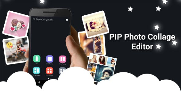 PIP Photo Collage Editor + Photo Collage + PIP Photo With Facebook Audience Network ( AdChoice )