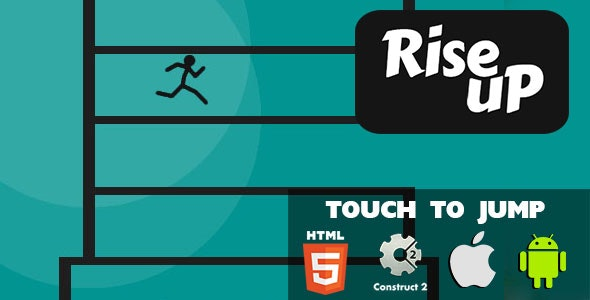 Rise Up - HTML5 Game (CAPX) - CodeCanyon Item for Sale