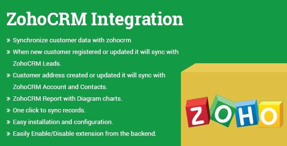 ZohoCRM Integration Magento 2