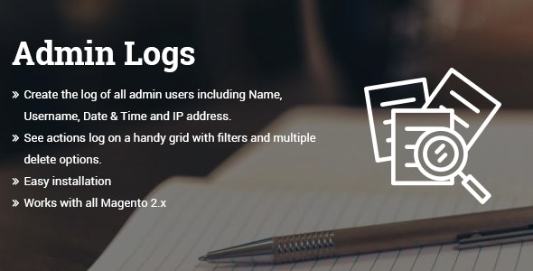 Admin Logs Magento 2 extension - CodeCanyon Item for Sale