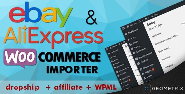 eBay Aliexpress WooImporter        Nulled