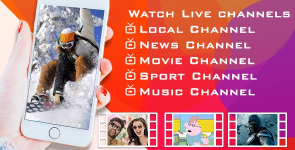 Make A Live TV App With Android Full Applications