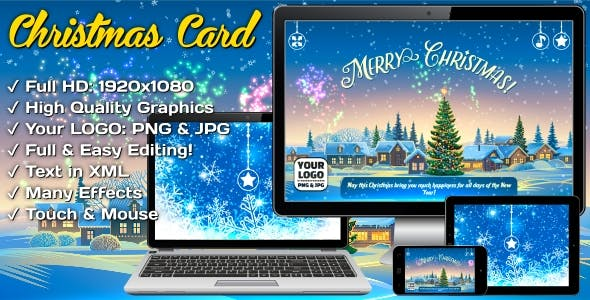 Christmas Card - Super Fireworks
