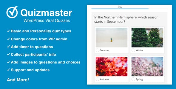 Quizmaster - Viral Quiz Maker for WordPress