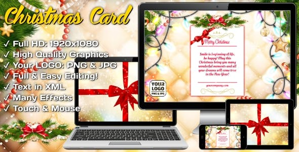 Christmas Card - Magic Gift