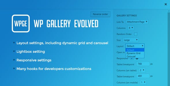 WP Gallery Evolved